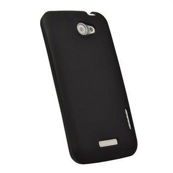 HTC One X One X iGadgitz Silikonisuojus Musta