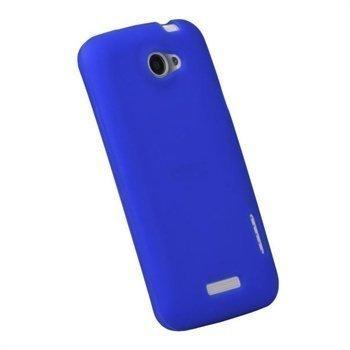 HTC One X One X+ iGadgitz Silikonisuojus Sininen