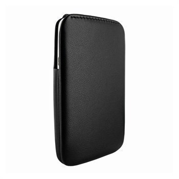HTC One X Piel Frama iMagnum2 Nahkakotelo Musta
