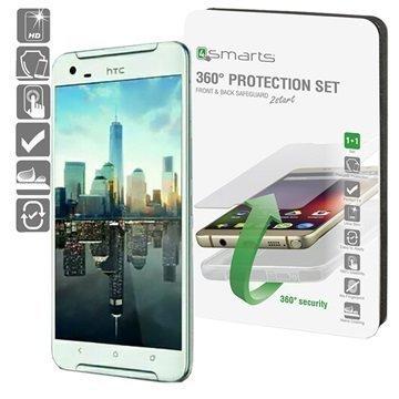 HTC One X9 4smarts 360 Suojaussetti Läpinäkyvä