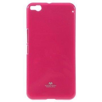 HTC One X9 Mercury Goospery TPU Kotelo Kuuma Pinkki