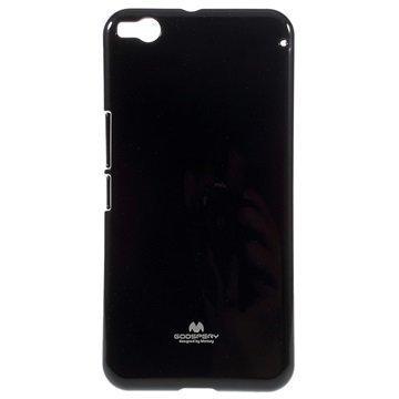 HTC One X9 Mercury Goospery TPU Kotelo Musta