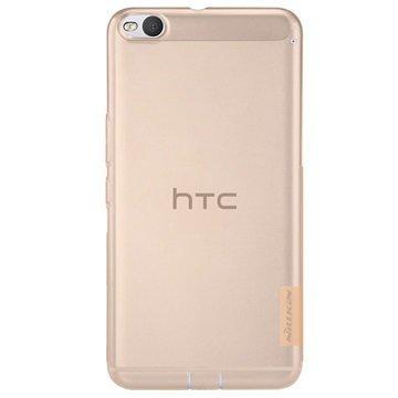 HTC One X9 Nillkin Nature TPU Suojakuori Ruskea