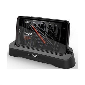 HTC One XL KiDiGi Cover-Mate USB-Pöytälaturi