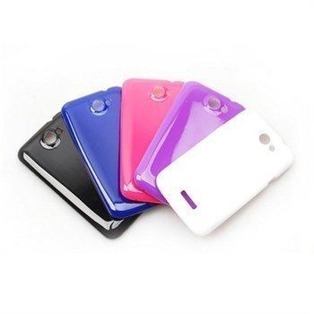 HTC One XL Konkis Suojakuoret Musta / Valkoinen / Sininen / Violetti / Pinkki