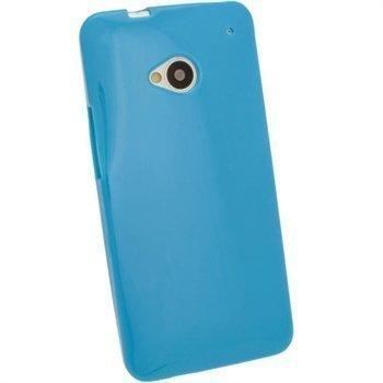 HTC One iGadgitz TPU-Suojakotelo Sininen