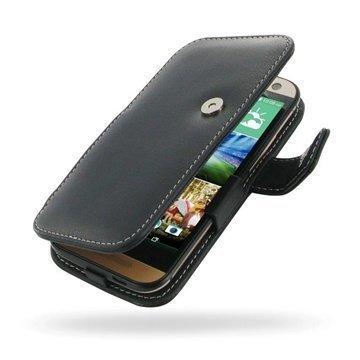 HTC One mini 2 PDair Leather Case 3BHTO2B41 Musta