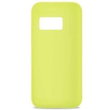 HTC One mini 2 Puro 0.3 Ultra Slim Silikonikotelo Limenvihreä