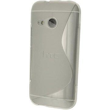 HTC One mini 2 iGadgitz S Line TPU-Kotelo Kirkas