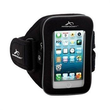 HTC One mini Armpocket I-25 Käsivarsihihna M Musta