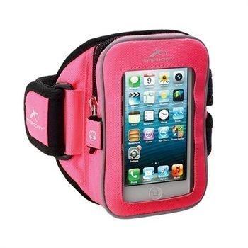 HTC One mini Armpocket I-25 Käsivarsihihna M Vaaleanpunainen