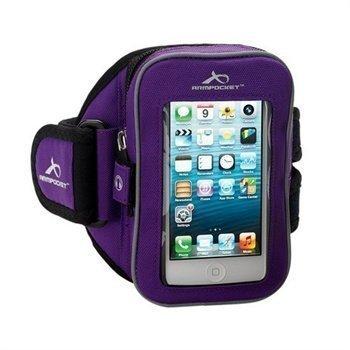 HTC One mini Armpocket I-25 Käsivarsihihna M Violetti
