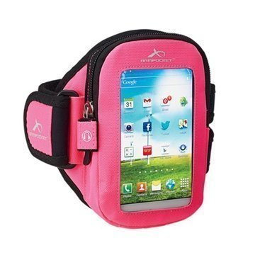 HTC One mini Armpocket i-30 Käsivarsikotelo S Pinkki