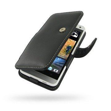 HTC One mini PDair Leather Case 3BHTNIB41 Musta
