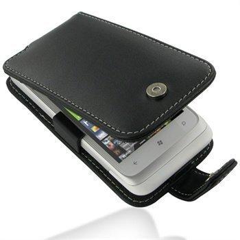 HTC Radar PDair Leather Case 3BHTRAF41 Musta