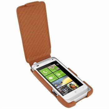 HTC Radar Piel Frama iMagnum Nahkakotelo Parkittunahka