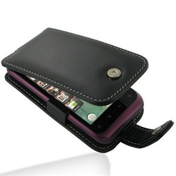 HTC Rhyme S510b PDair Leather Case 3BHTRHF41 Musta