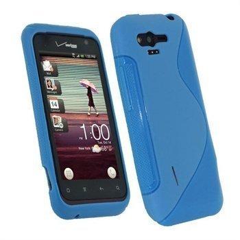HTC Rhyme iGadgitz Dual Tone TPU Cover Blue