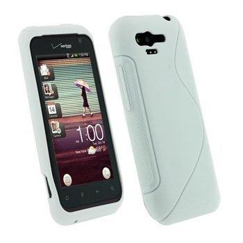 HTC Rhyme iGadgitz Dual Tone TPU Cover White