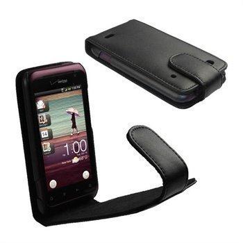 HTC Rhyme iGadgitz Nahkakotelo Musta