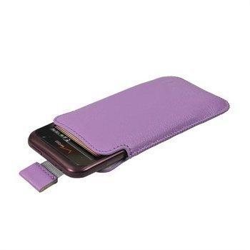 HTC Rhyme iGadgitz Nahkakotelo Violetti