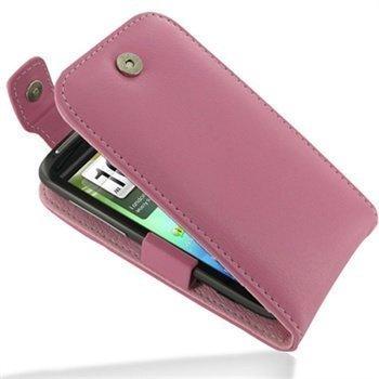 HTC Sensation Sensation 4G Sensation XE PDair Leather Case 3JHTS4T41 Vaaleanpunainen
