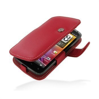 HTC Sensation Sensation 4G Sensation XE PDair Leather Case 3RHTS4B41 Punainen