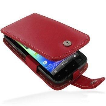 HTC Sensation Sensation 4G Sensation XE PDair Leather Case 3RHTS4F41 Punainen