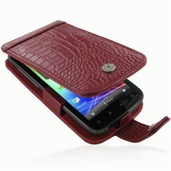 HTC Sensation Sensation 4G Sensation XE PDair Leather Case GRHTS4F41 Punainen
