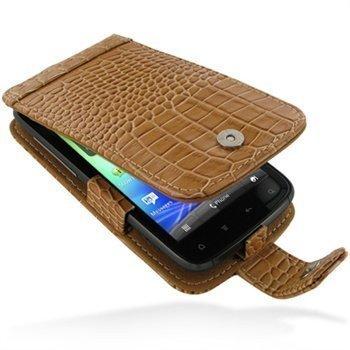 HTC Sensation Sensation 4G Sensation XE PDair Leather Case GTHTS4F41 Ruskea