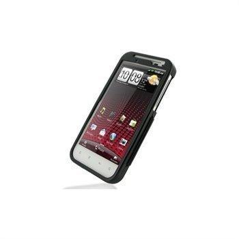 HTC Sensation XL Metal Case Musta