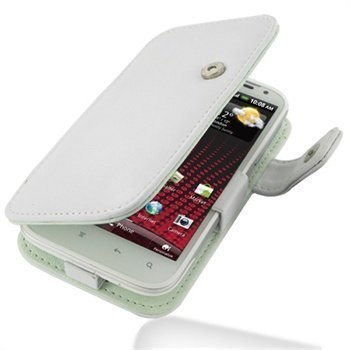 HTC Sensation XL PDair Leather Case 3WHTXLB41 Valkoinen