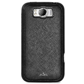 HTC Sensation XL Puro Professional Nahkakotelo Musta