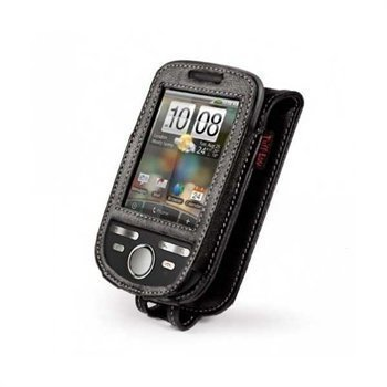HTC Tattoo Tuff-Luv Leather Case