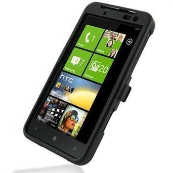 HTC Titan Metal Case Musta