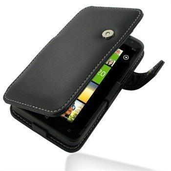 HTC Titan PDair Leather Case 3BHTTAB41 Musta