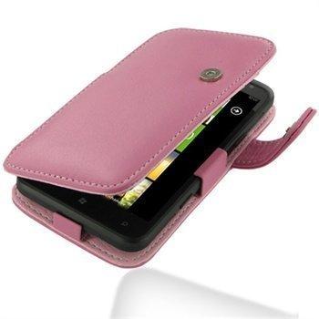 HTC Titan PDair Leather Case 3JHTTAB41 Vaaleanpunainen