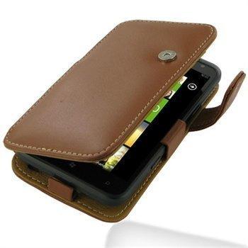 HTC Titan PDair Leather Case 3THTTAB41 Ruskea