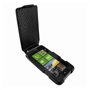 HTC Titan Piel Frama iMagnum Nahkakotelo Sininen