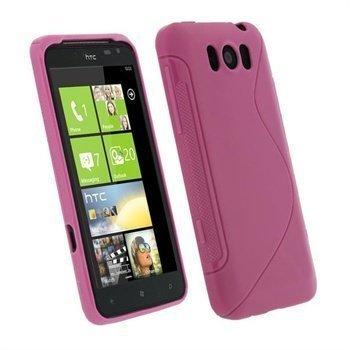HTC Titan iGadgitz Dual Tone suojakuori Pinkki
