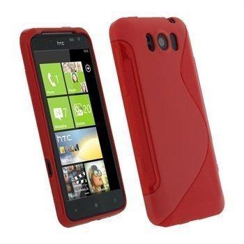 HTC Titan iGadgitz Dual Tone suojakuori Punainen