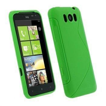 HTC Titan iGadgitz Dual Tone suojakuori Vihreä