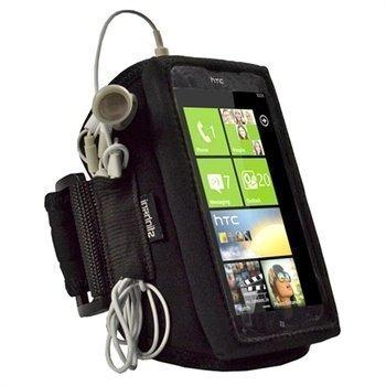 HTC Titan iGadgitz Neopreeni Käsivarsikotelo Musta