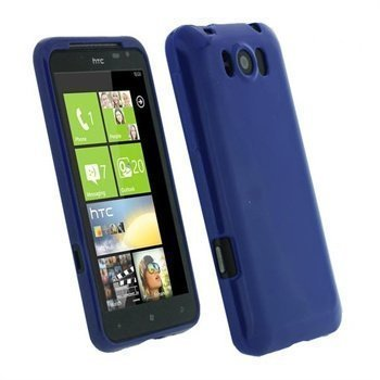 HTC Titan iGadgitz TPU suojakuori Sininen
