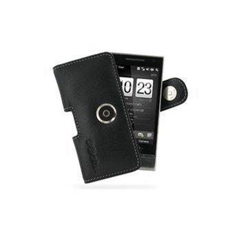 HTC Touch Diamond2 PDair Horizontal Leather Case Black