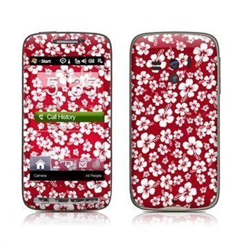 HTC Touch Pro2 Aloha Skin Red
