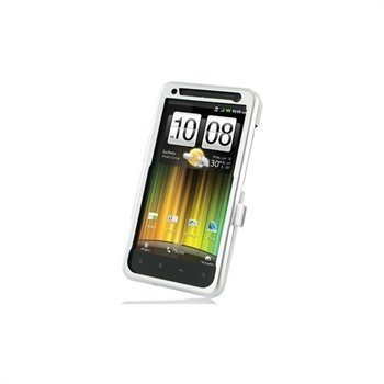 HTC Velocity 4G Metal Case Silver