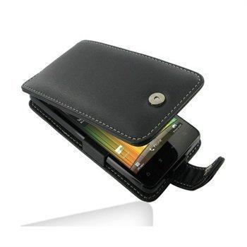 HTC Velocity 4G PDair Leather Case 3BHTV4F41 Musta