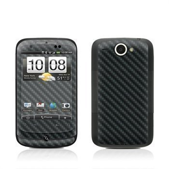 HTC Wildfire Carbon Skin