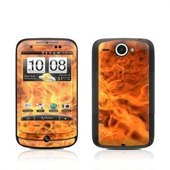 HTC Wildfire Combustion Skin